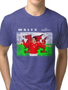 WALES EURO 2016 Tri-blend T-Shirt