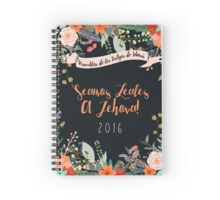 SEAMOS LEALES A JEHOVÁ! (Country Floral) Spiral Notebook