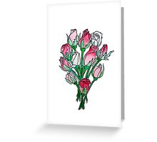 Rosebud Posy Greeting Card