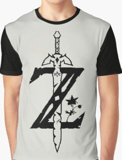 The Legend of Zelda Breath of the Wild Graphic T-Shirt