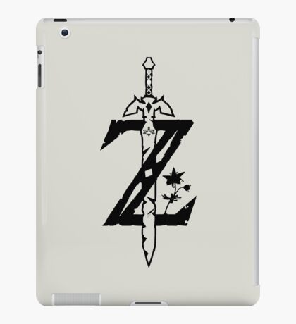 The Legend of Zelda Breath of the Wild iPad Case/Skin