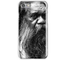 Portrait of an aborigine iPhone Case/Skin