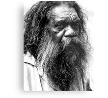 Portrait of an aborigine Metal Print