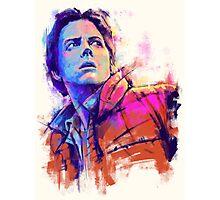 Marty McFly V2 Photographic Print