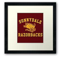 Sunnydale Razorbacks Framed Print