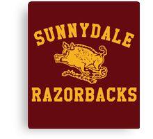 Sunnydale Razorbacks Canvas Print