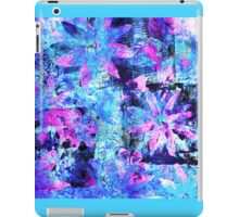 Flower in Black Square 11- Digitally Altered Print by Heather Holland iPad Case/Skin