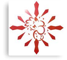 Crystarium Redd Logo Canvas Print