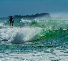 Cotton Tree Surf Break by Steve E
