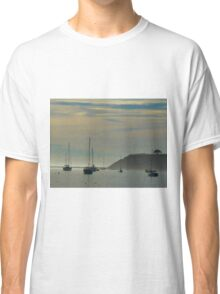 Resting Sailboats in Still Waters Classic T-Shirt