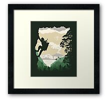 Breath of Adventure Framed Print