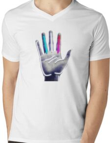 Fitz and the Tantrums Mens V-Neck T-Shirt