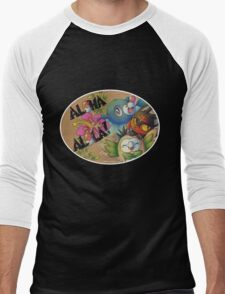 Aloha Alola! Men's Baseball ¾ T-Shirt