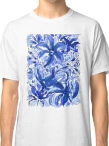 Blue Flowers Classic T-Shirt
