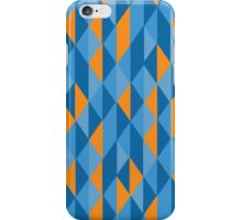 Blue & Orange  iPhone Case/Skin