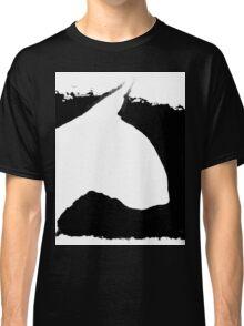 Bull Terrier Head B&W lge Classic T-Shirt