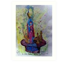 The Water Goddess Art Print