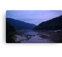 Hills of Laos Canvas Print