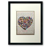 World of Love Framed Print