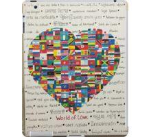 World of Love iPad Case/Skin