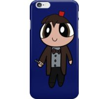 11th Doctor Powerpuff Style! iPhone Case/Skin