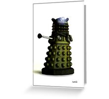 Ironside - Dalek Greeting Card