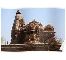 Khajuraho,  Temple Architecture Poster