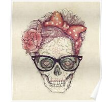 Hipster Girl is Dead Poster