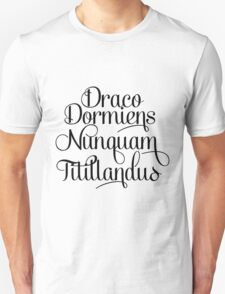 Harry Potter Hogwarts Motto Unisex T-Shirt