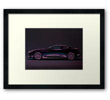 Aston Martin DBS V12 Painting Framed Print