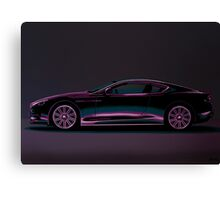 Aston Martin DBS V12 Painting Canvas Print