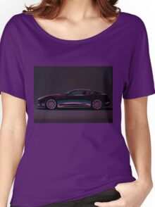 Aston Martin DBS V12 Painting Women's Relaxed Fit T-Shirt