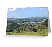 Englands Green and Pleasant Land Greeting Card