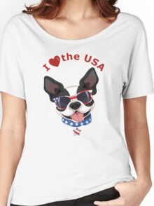 Love the USA Women's Relaxed Fit T-Shirt