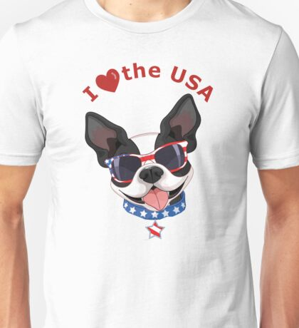 Love the USA Unisex T-Shirt