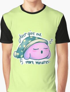 Kirby- 5 More Minutes Graphic T-Shirt