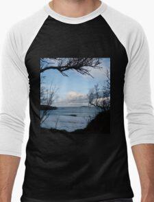 Natural Window - Harlyn Bay - Cornwall Men's Baseball ¾ T-Shirt