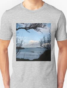 Natural Window - Harlyn Bay - Cornwall Unisex T-Shirt
