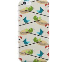 Mid Century Birds  iPhone Case/Skin