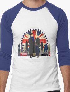 Eliminate the Impossible (White Text) Men's Baseball ¾ T-Shirt