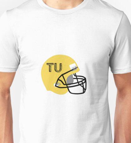 Towson University Football Helmet Unisex T-Shirt