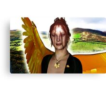 The Angel of Clare Canvas Print