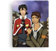 Voltron: Keith and Lance Canvas Print