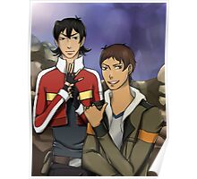 Voltron: Keith and Lance Poster