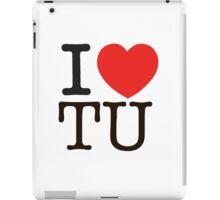 I Heart TU iPad Case/Skin