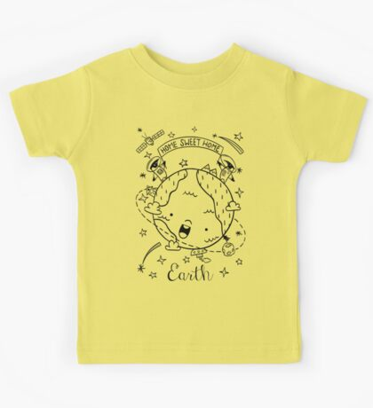 Planet Earth and the Empire Penguins Kids Tee