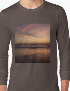 Feathered Sunset Long Sleeve T-Shirt