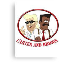 Carter and Briggs Canvas Print