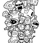 The Robots In My Mainframe by nataltdesigns
