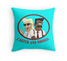 Carter and Briggs Throw Pillow